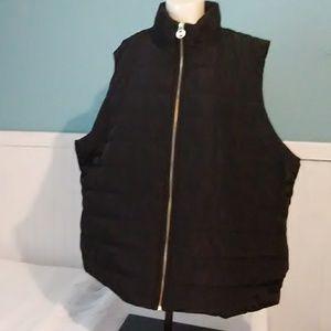 NWOT Mens Michael Kors Zip Up Vest. Size 3X